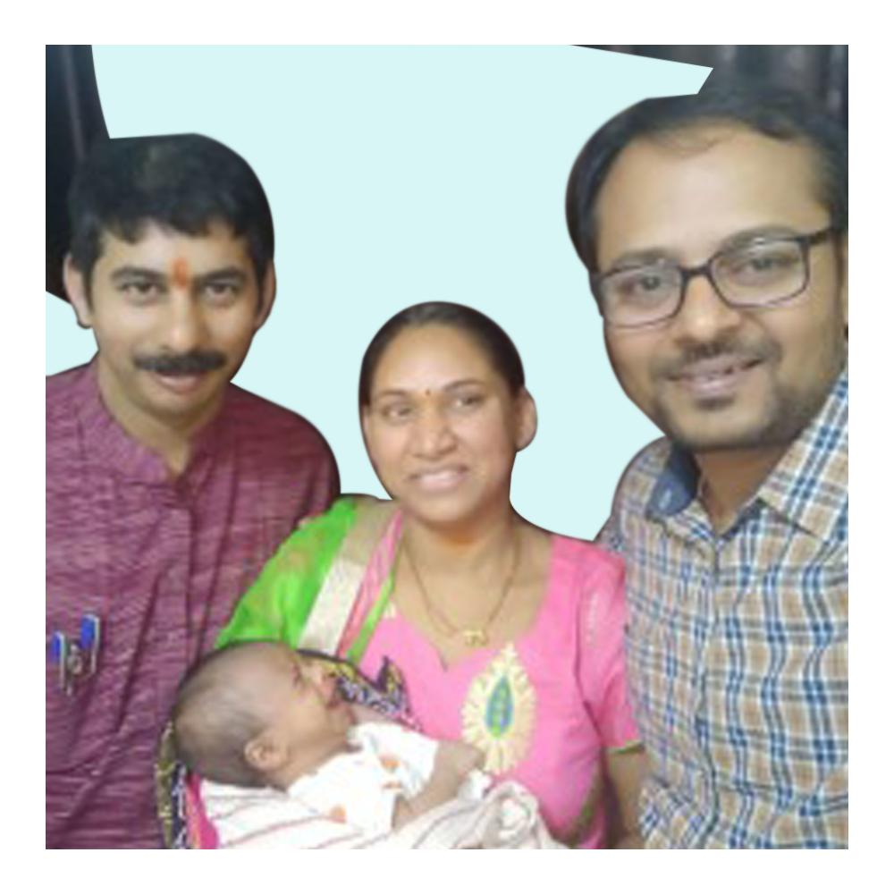 Dr. Parag Hitnalikar With Happy Patient
