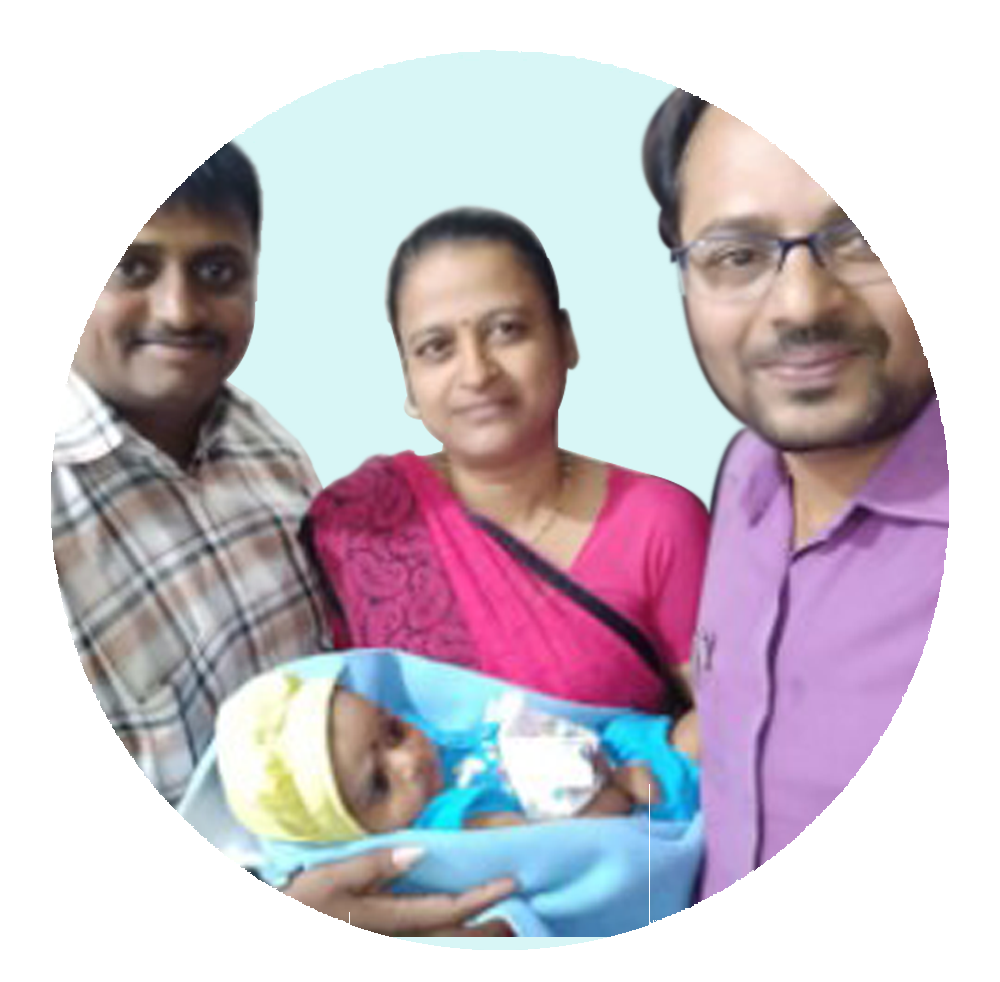 Dr. Parag Hitnalikar With Happy Patient